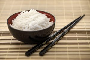 Bowl of rice, Asian Cuisine
